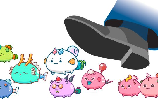 Axie Infinity Down 40% Since Last Week's Price High, Protocol Revenue Outshines Competitors